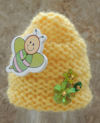 Innocent Smoothies Big Knit Hat Patterns Bee Hive, Beehive, Bee button