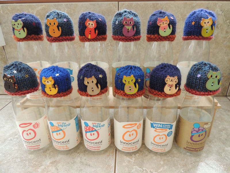 4c08addbe ... Innocent Smoothies Big Knit Hat Patterns - Butterfly Pattern. Cats ...