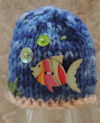 Innocent Smoothies Big Knit Hat Patterns Ocean Deep Fish Button