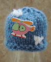 Innocent Smoothies Big Knit Hat Patterns, Helicopter Button