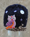 Innocent Smoothies Big Knit Hat Patterns Owl Button