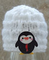 Innocent Smoothies Big Knit Hat Patterns Igloo Penguin Button