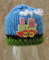 Innocent Smoothies Big Knit Hat Patterns Train Button