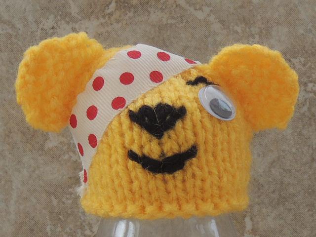 Pudsey Bear Knitting Pattern : Innocent Big Knit Hat Pattern - Pudsey Bear