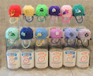 Innocent Smoothies Big Knit Hats - Barney Bag / Basket