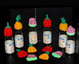 Innocent Smoothies Big Knit Hats - Fruit