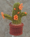Innocent Smoothies Big Knit Hat Patterns - Cactus