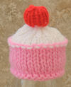 Innocent Smoothies Big Knit Hat Patterns Cup Cake cupcake