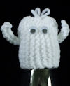 Innocent Smoothies Big Knit Hats - Ghost