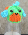 Innocent Big Knit Hat Pattern - Parrot Bird Lovebird