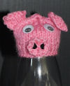 Innocent Smoothies Big Knit Hats - Pig