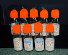 Innocent Smoothies Big Knit Hats - Oranges