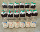 Innocent Smoothies Big Knit Hats - Christmas Puddings