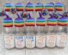Innocent Smoothies Big Knit Hats - Rainbow Hats