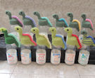 Innocent Smoothies Big Knit Hat Patterns - Dinosaur, Smoothiesaurus