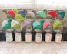 Innocent Smoothies Big Knit Hat Patterns - Dinosaur