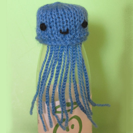 Innocent Smoothies Big Knit Hat Patterns Jellyfish