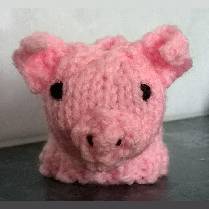 Innocent Smoothies Big Knit Hat Patterns Pig